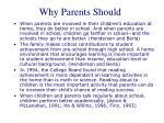 why parents should