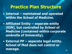 practice plan structure
