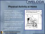 physical activity at home24