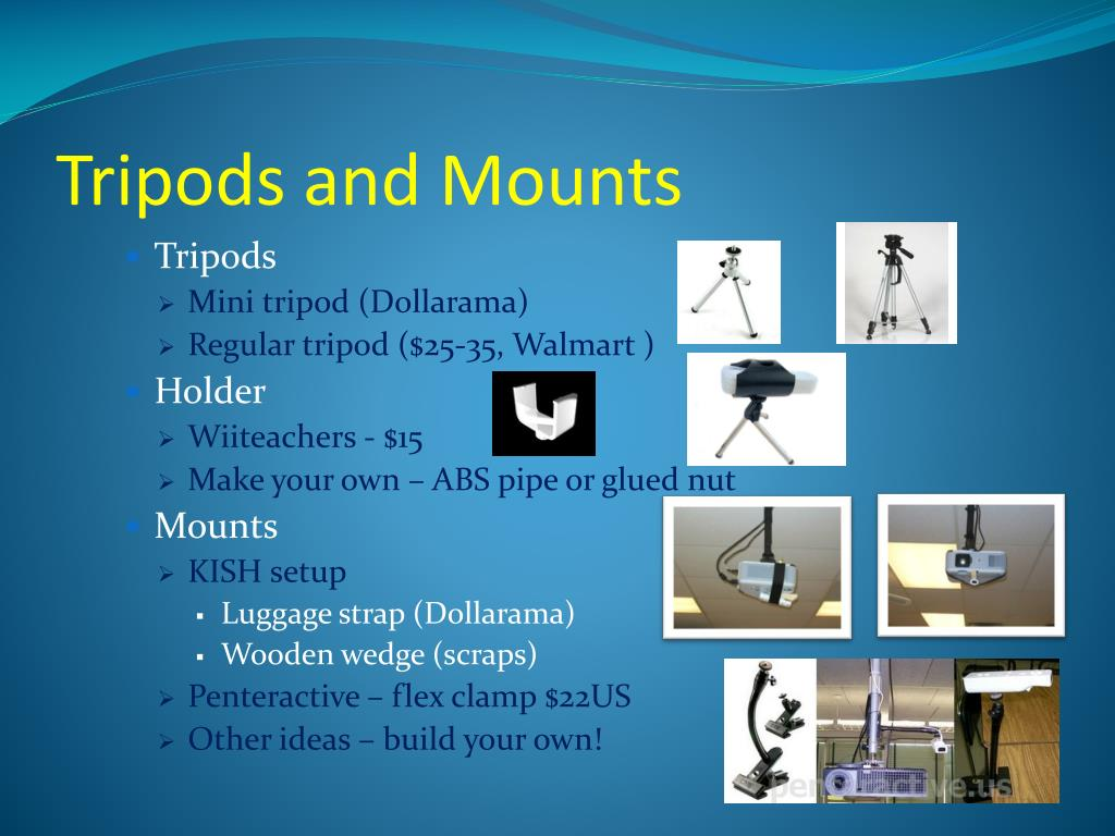 Tripods and Mounts