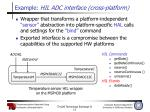 example hil adc interface cross platform