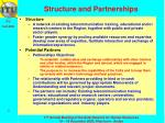 structure and partnerships