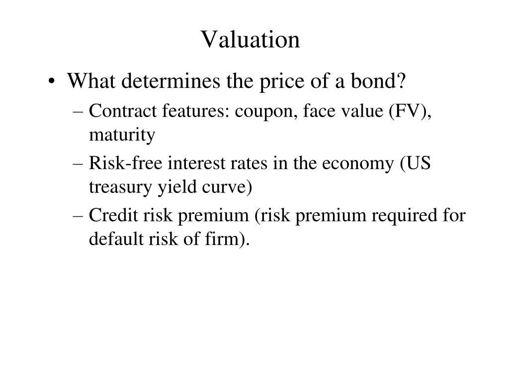 valuation l.