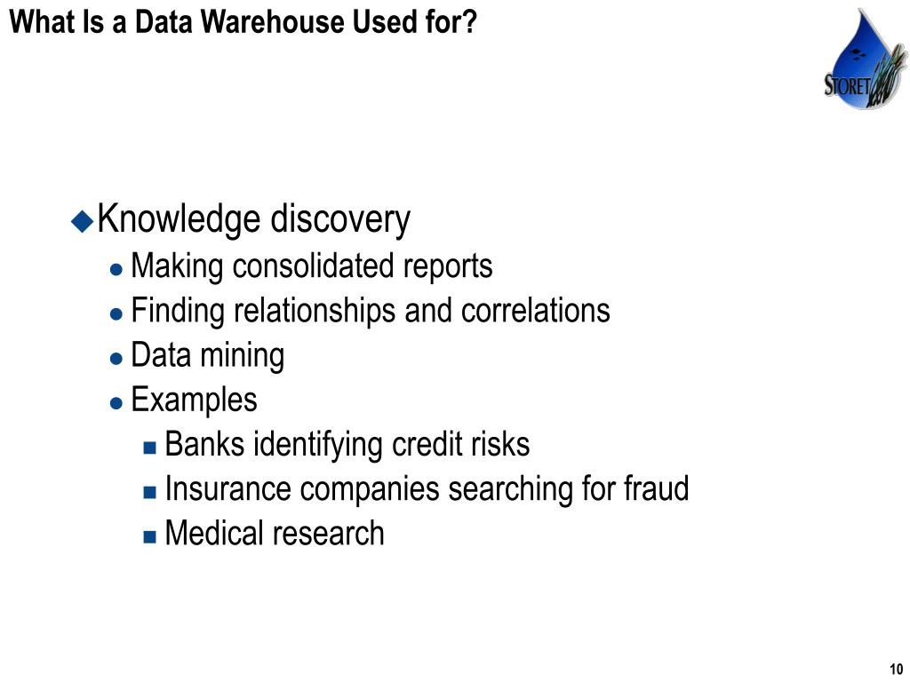 introduction to data warehousing
