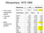 albuquerque 1970 1990