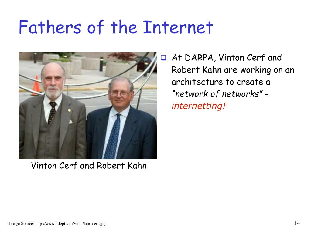 Fathers of the Internet