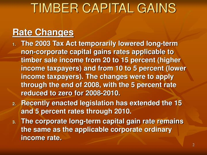 Timber capital gains2