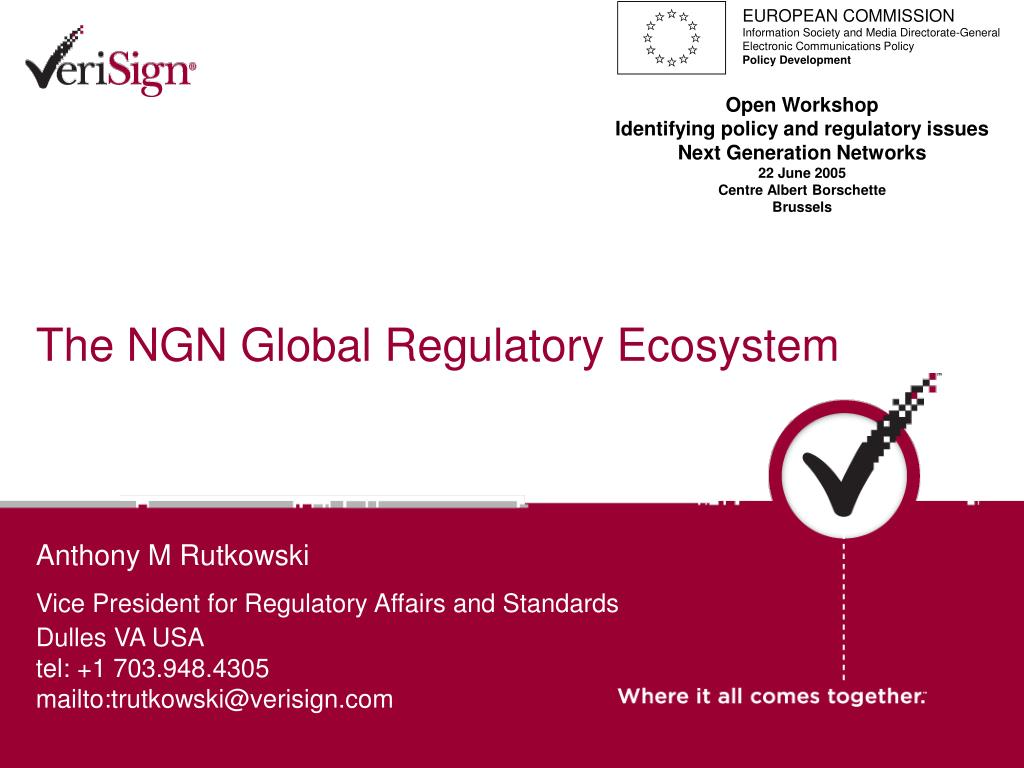 the ngn global regulatory ecosystem l.