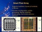 smart pixel array18