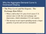 why the aggregate demand curve is downward sloping22