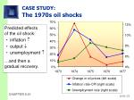 case study the 1970s oil shocks30