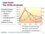 case study the 1970s oil shocks33