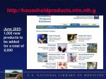household products database http householdproducts nlm nih gov