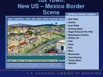 tox town new us mexico border scene