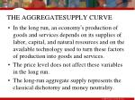 the aggregatesupply curve32