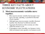 three key facts about economic fluctuations9