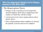 why the aggregate supply curve slopes upward in the short run45