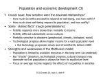 population and economic development 3