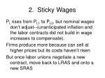 2 sticky wages