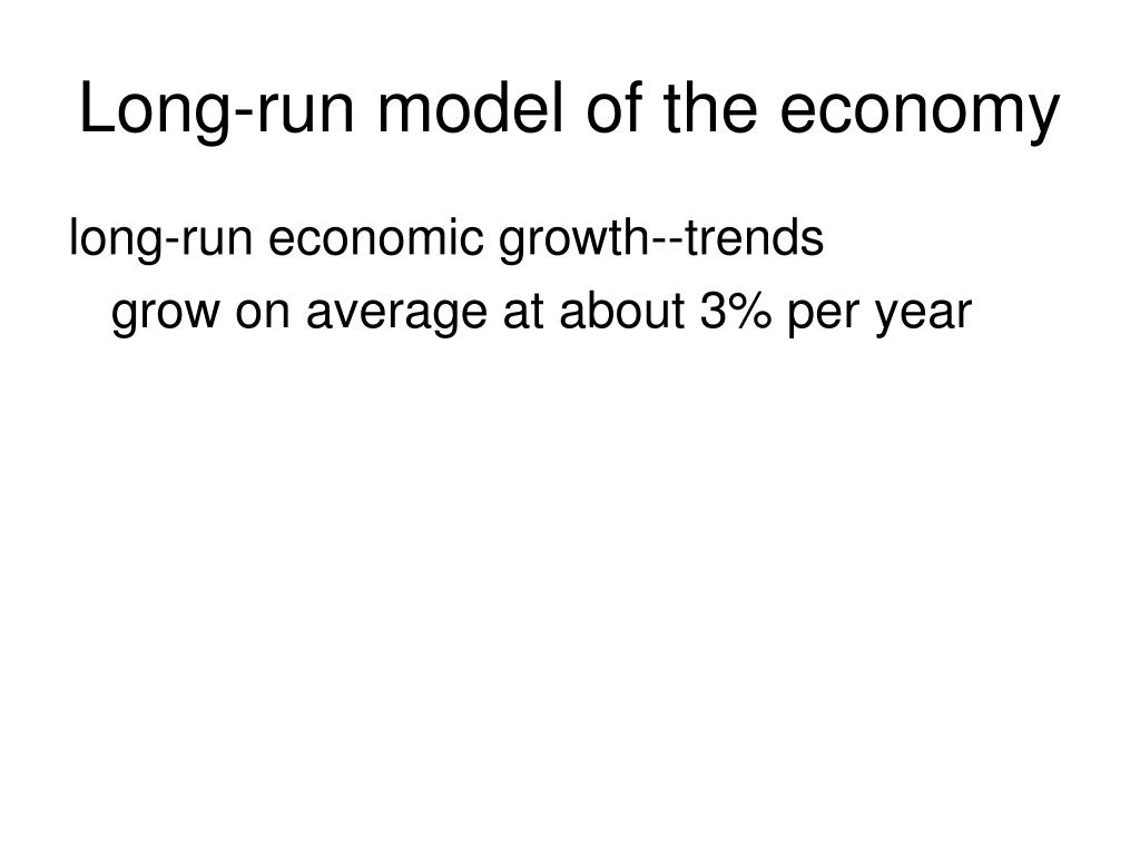 long run model of the economy l.