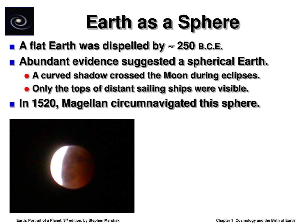 Earth as a Sphere