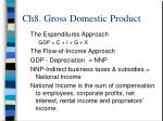 ch8 gross domestic product5
