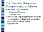 ch9 economic fluctuations unemployment and inflation12