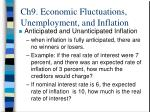 ch9 economic fluctuations unemployment and inflation18