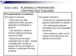 educ 4454 planning preparation for practice teaching21