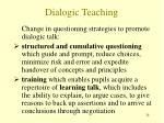 dialogic teaching