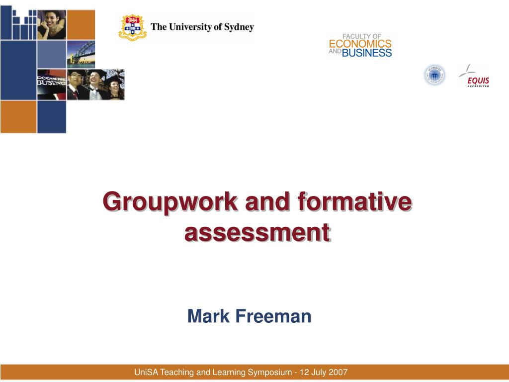 groupwork and formative assessment l.