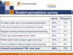 student perceptions survey