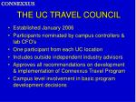 the uc travel council