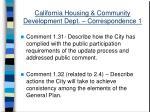 california housing community development dept correspondence 135