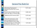 general plan build out