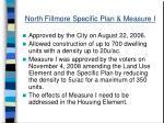 north fillmore specific plan measure i