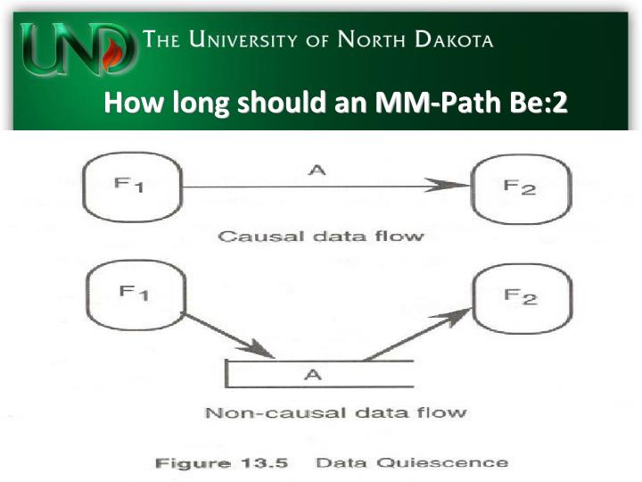 How long should an MM-Path Be:2