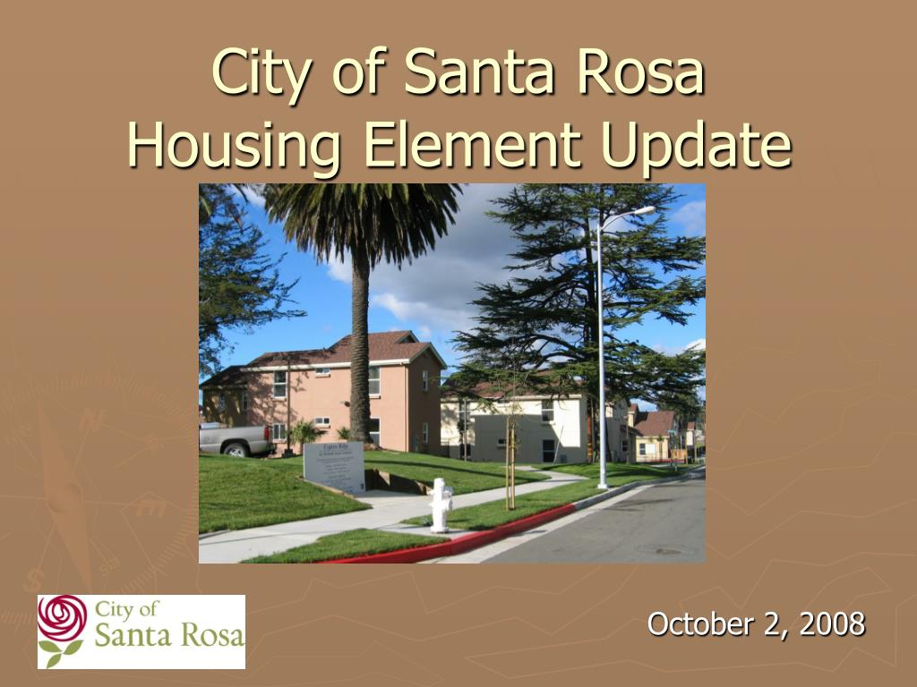 city of santa rosa housing element update l.