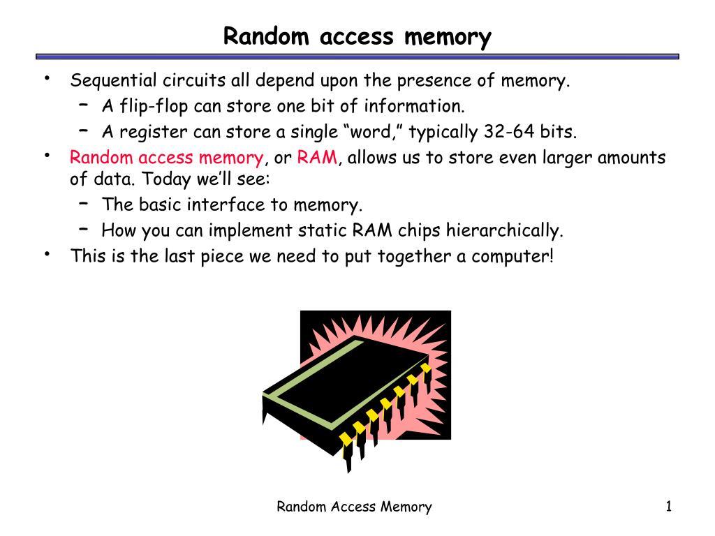 random access memory l.