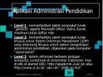 aplikasi administrasi pendidikan