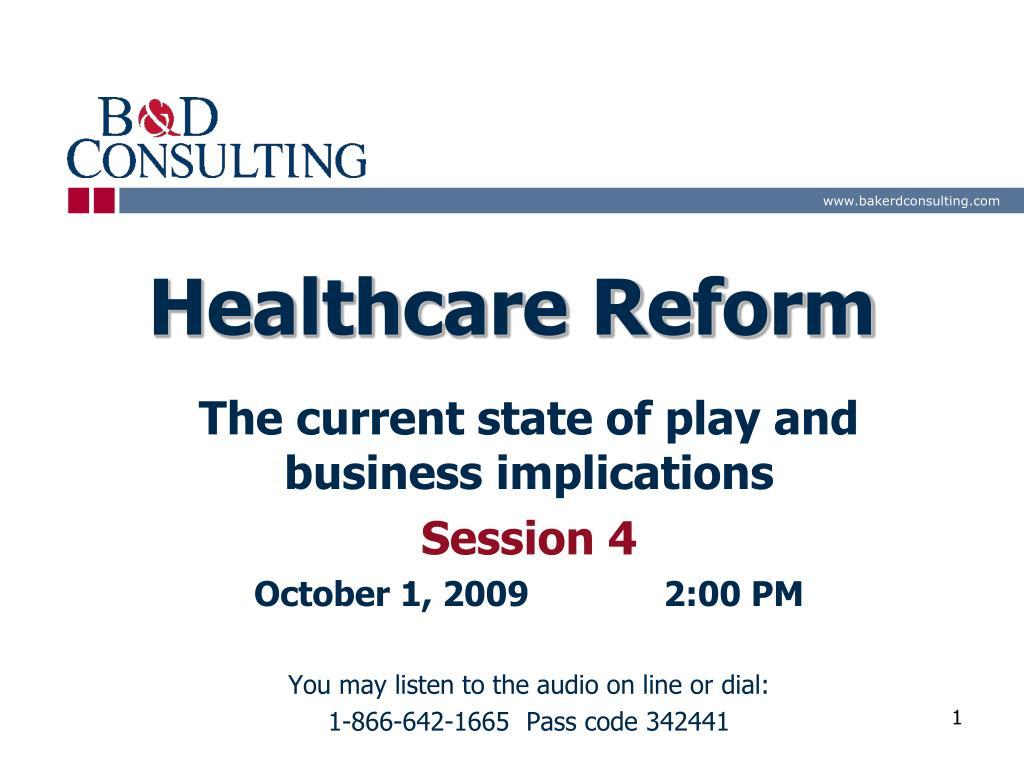 healthcare reform l.