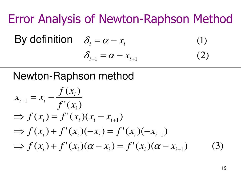PPT - Roots of Equations PowerPoint Presentation, free