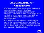 accountability assessment