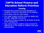 capta school finance and education reform priorities10