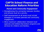 capta school finance and education reform priorities12