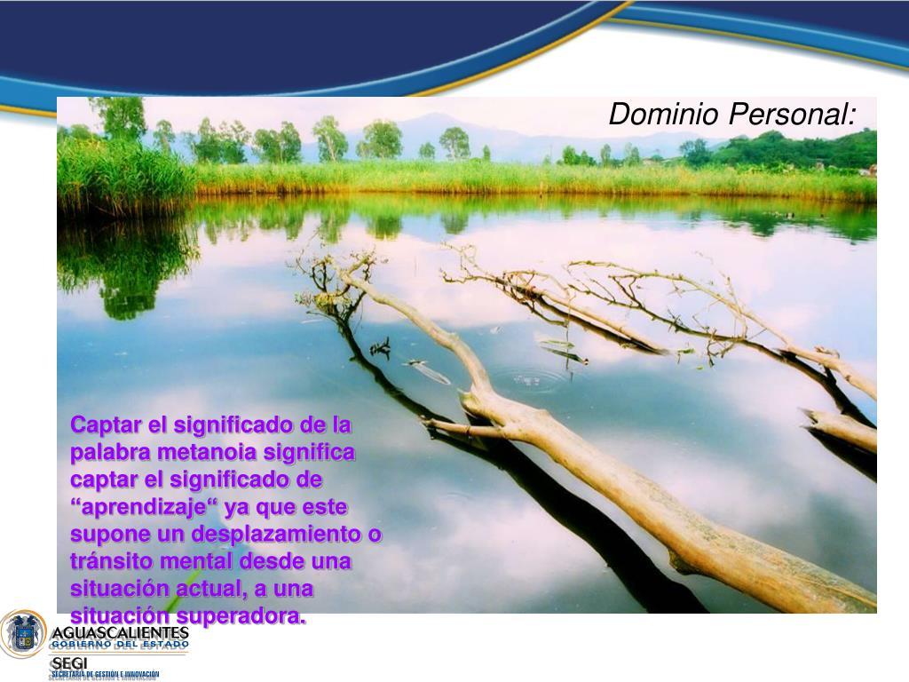 Dominio Personal: