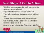next steps a call to action