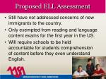 proposed ell assessment16