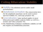 coiling bifurcation stability55