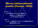 micro conversational events poesio 1995